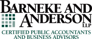 Barneke and Anderson, Certified Public Accountants and Business Advisors